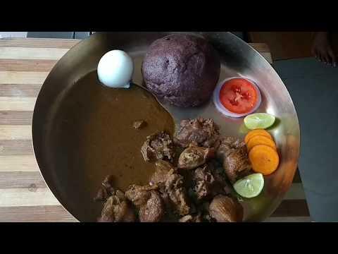 naati kooli chicken saru/chiken samber/village style traditional koli saru