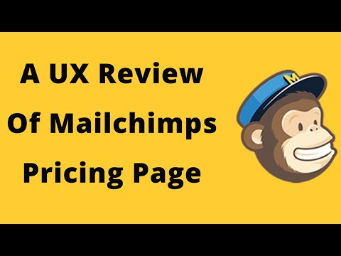 Is it just me or does Mailchimp's pricing seem confusing? UX case study