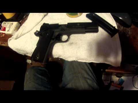 Quick look at My G-S-G 1911 22 lr pistol