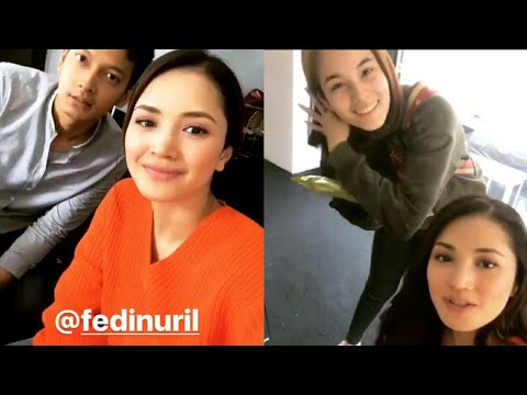 Fazura script reading bersama pelakon Ayat-Ayat Cinta 2 antaranya Fedi Nuril & Chelsea Islan