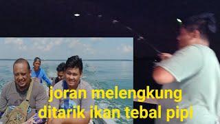Hir jatuh ditarik ikan ll MANCING Rumah rakit Mamat Tg Buai