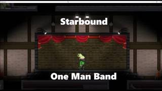 Starbound: One Man Band 2 - Megalovania Remix