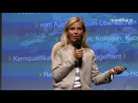 """re:publica 2017 #HRFestival Ursula Schütze-Kreilkamp: Plötzlich Digital – Und was nun? """"Vom Opfer"""" on YouTube"""