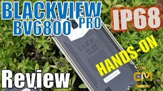 Blackview BV6800 Pro Test: IP68, IP69K, MIL-STD-810G - Hands-on (Deu...