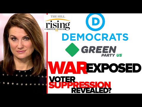 Krystal Ball: Dem WAR On Green Party Exposes Voter Suppression Hypocrisy