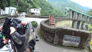 「二津野大橋」(吊橋)~「ホテル昴」到着寸前迄(13/21) thumbnail