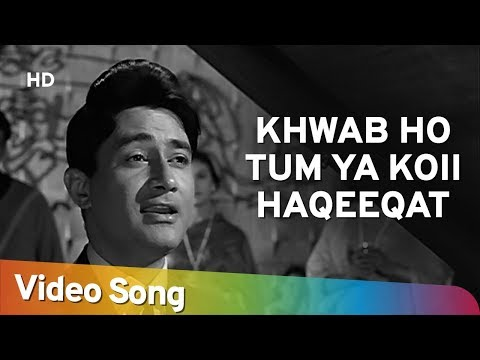 Khwaab Ho Tum Ya Koi | Teen Deviyan | Dev Anand | Romantic Old Hindi Songs | Kishore Kumar