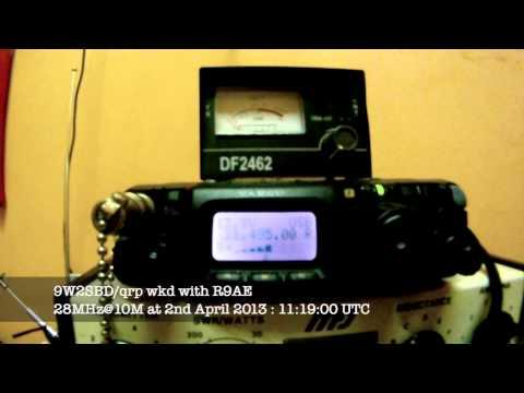 9W2SBD_qrp wkd with R9AE