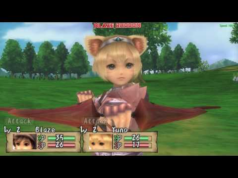Brave Story: New Traveler (PSP) Walkthrough Part 2 Town of Lanka (meeting Yuno)
