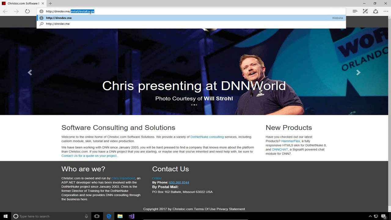 DNN 9 Series Video 13 - Creating and Packaging a Web-forms Module in ...