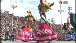 Guelaguetza Oaxaca part 2 (jarabe del valle)