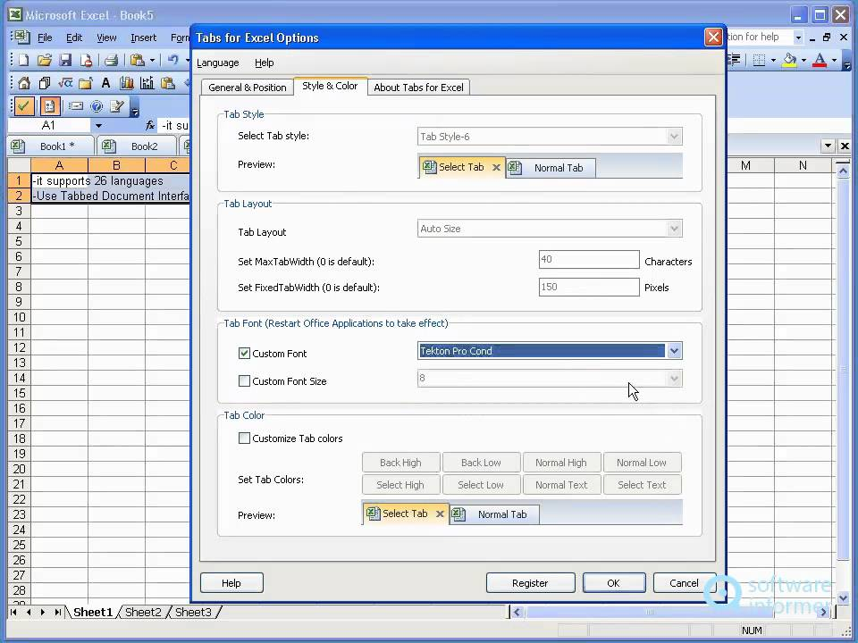 Office Tab Enterprise demonstration - YouTube