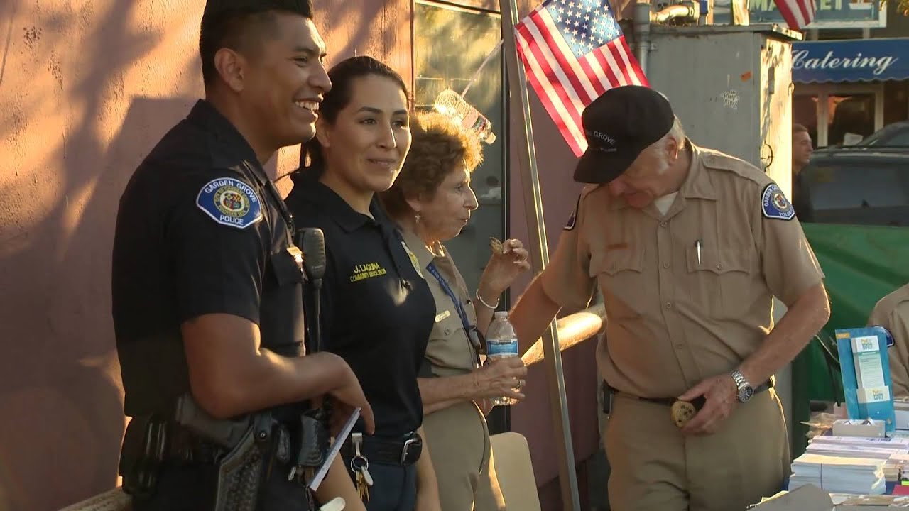 National Night Out in Garden Grove - YouTube