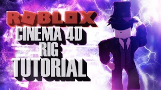 TUTORIAL How to make your Roblox Rig for Cinema 4D-Part 2-ROBLOX