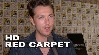 Divergent Comic Con 2013 Christian Madsen Al Interview