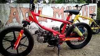 Modif Motor Jadi Sepeda Bmx Modif Motor Keren Banget