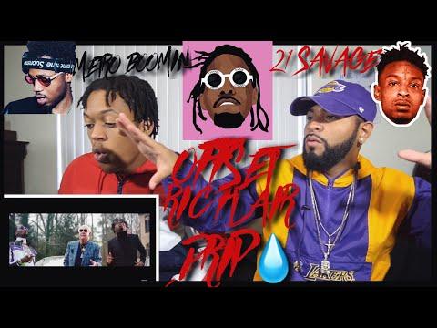 21 Savage, Offset, Metro Boomin - Ric Flair Drip | FVO Reaction