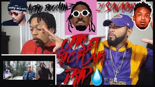 21 Savage, Offset, Metro Boomin - Ric Flair Drip | FVO Reaction