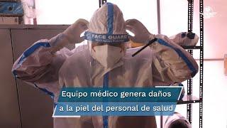 El personal de la salud ha usado herramientas para evitar los contagios entre médicos y pacientes