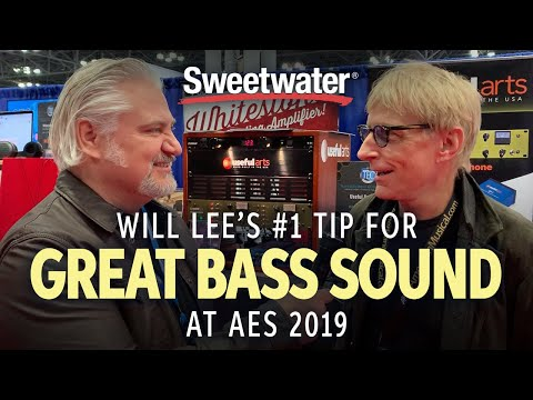 Will Lee's #1 Tip for Great Bass Sound at AES 2019