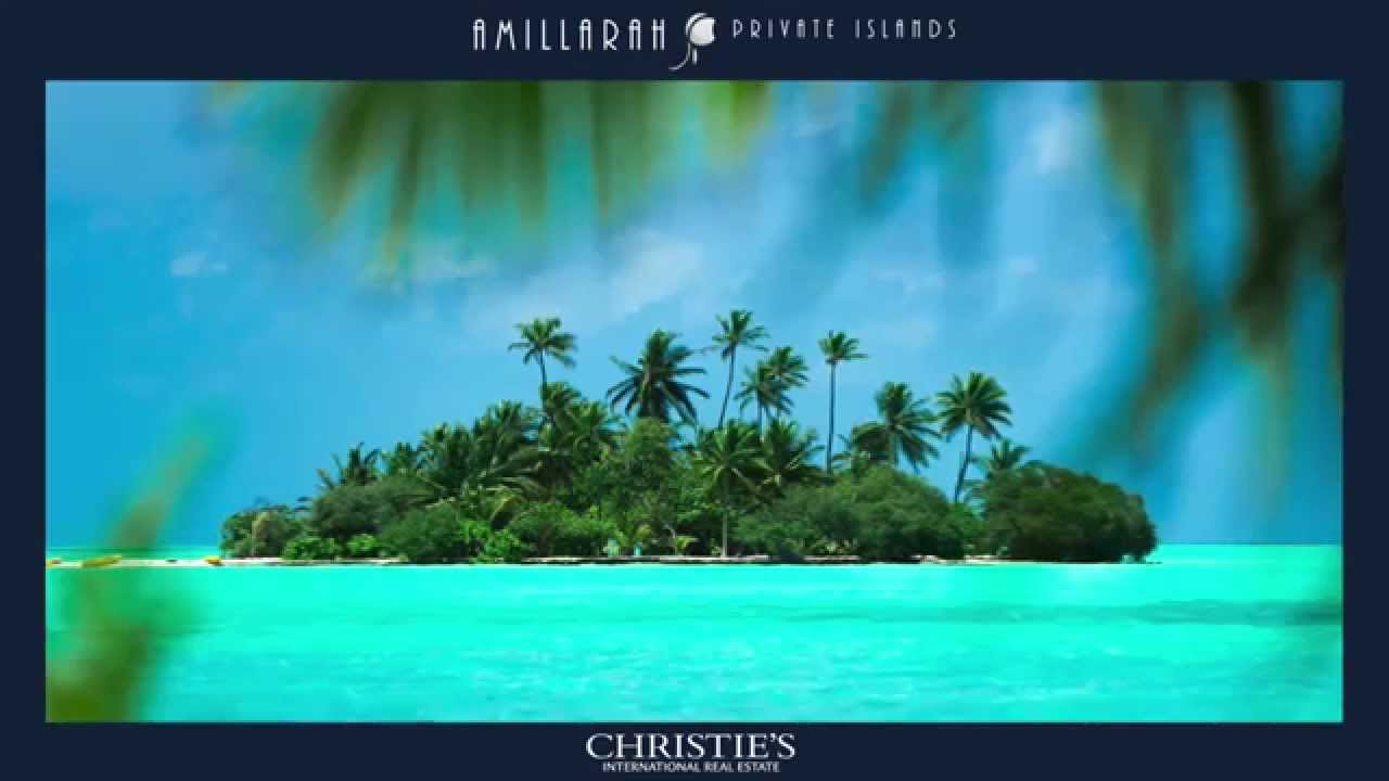 check private portable islands christies selling