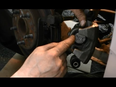 how to install a rear brake caliper buick cadillac olds 97 98 99 rh youtube com