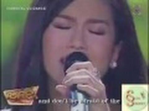 Rachelle Ann Go sings