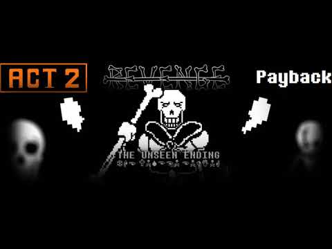 REVENGE - The Unseen Ending OST: Revengeful Papyrus.... (Striking The Demon Down)