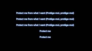 Placebo -  protège moi (lyrics)