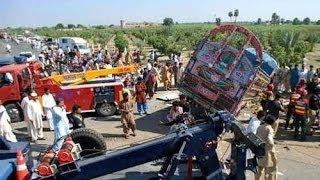 42 قتيلا على الاقل في حادث سير جنوب باكستان   - أخبار الآن