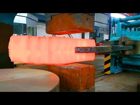 HYPNOTIC Video Forging Factory Steel Hydraulic Pneumatic Hammer Mega Machine Steelworks