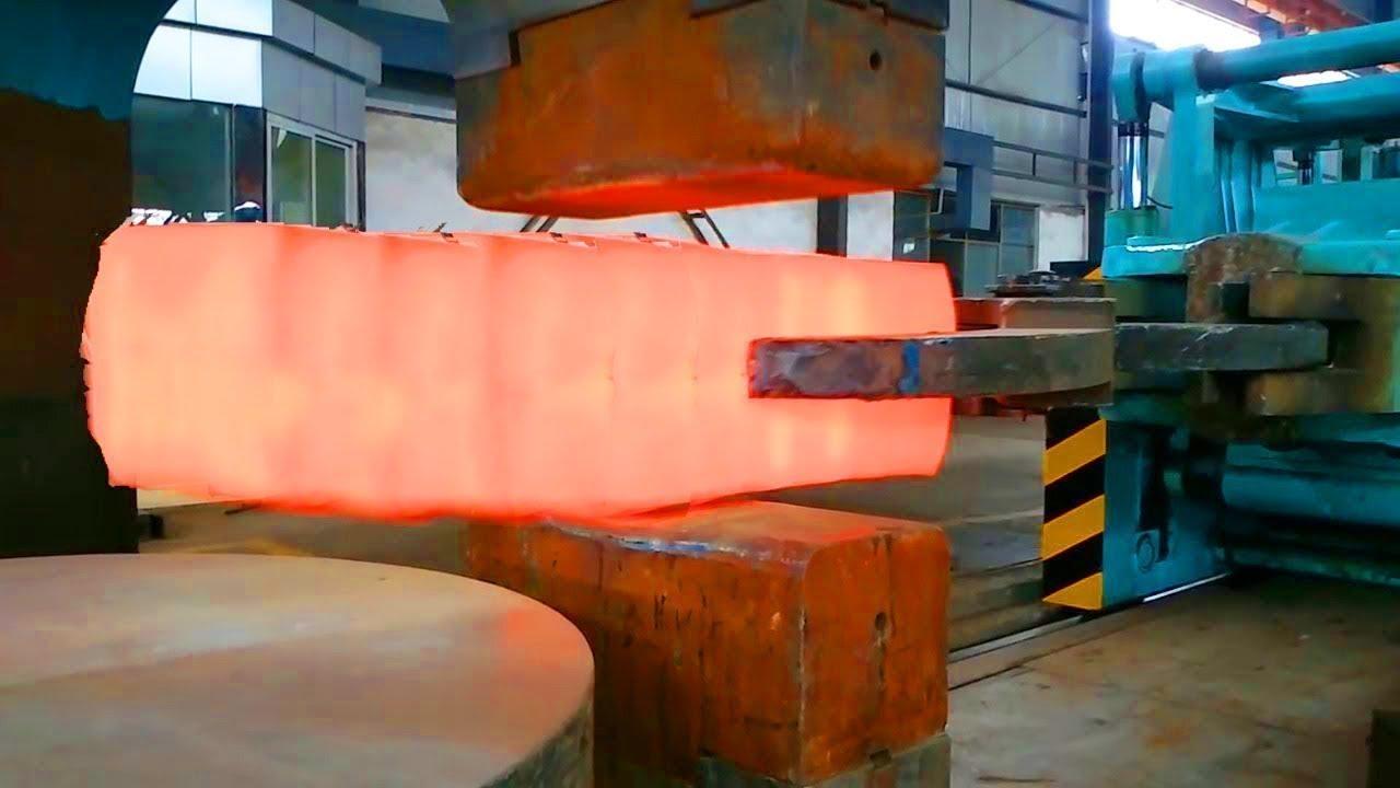 Dev Çelik Dövme Fabrikaları, Çelik Nasıl Şekillenir