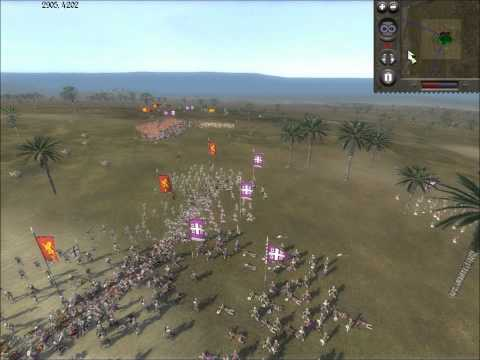 Medieval II Total War Online Battle #70: England vs Byzantine Empire