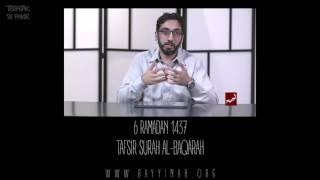 Download Tafsir: Surah al-Baqarah - Nouman Ali Khan - Day 6