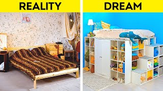 Stylish Bedroom Design Ideas || Cool Organizing And Decorating Hacks For Your Home!