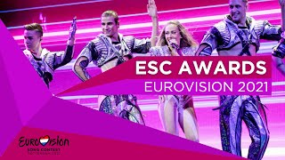 Eurovision 2021 Awards! (After Rehearsals)