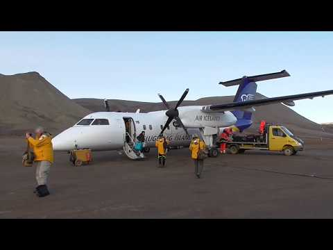 Air Iceland Bombardier Dash 8 Reykjavik Constable Point, Greenland