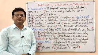 Anti-Diarrhoeal Drugs (Part- 01)= Basic Introduction to Diarrhoea in HINDI