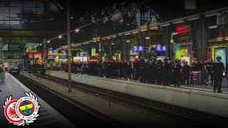 Eintracht Frankfurt - Fenerbahçe 0:0 | Corteo Fenerbahçe Ultras In Frankfurt 16.
