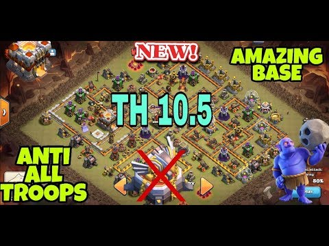 Best Th11 War Base Without Eagle Artillery 2018 9