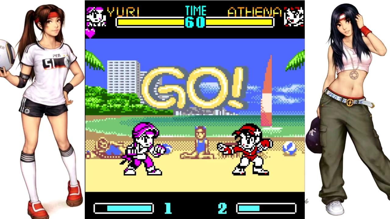 neo geo pocket gals fighters