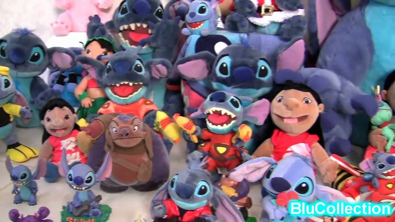 Lilo And Stitch Complete Collection Toys Plush With Angel -1356
