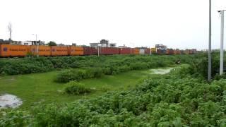 Angul WAG-7 led CONCOR freight conquers Dakaniya Talav!!