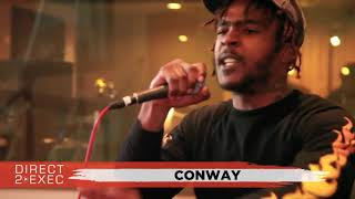 Conway Performs at Direct 2 Exec NYC 4/20/18 -  Atlantic Records