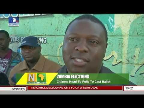 Network Africa: Zambia Citizens Head To Polls To Cast Ballot