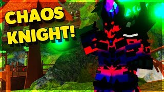 THE CHAOS KNIGHT RETURNS! (ROBLOX DUNGEON QUEST)