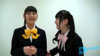 2軍女子アイドル・乙女新党の高橋優里花ちゃん&田尻あやめちゃんから可...