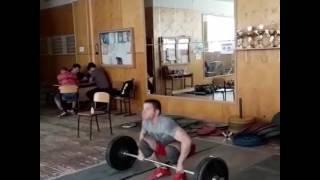 Комплекс КЛОКОВА Рекордная попытка 105 кг,личный рекорд.
