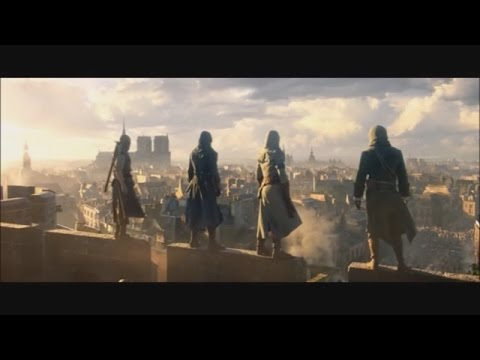 Assassin's Creed Unity Main Theme Extended 30 Minutes (Combined With Trailers)