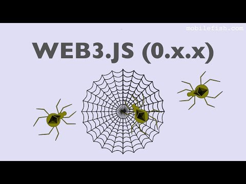 web3.js library, the Ethereum JavaScript API